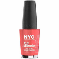 NYC New York Color In a New York Minute Nail Polish, Penn Station Pink, 0.33 fl oz