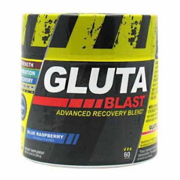 Con-Cret Gluta-Blast Blue Raspberry - 60 Servings