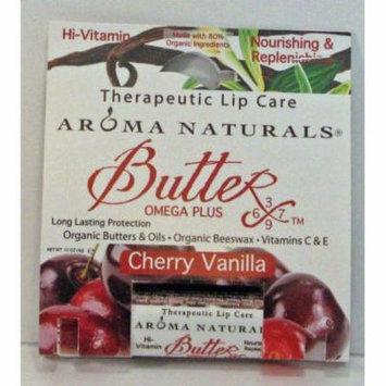 Lip Care - Cherry Vanilla Aroma Naturals .15 oz Lip Balm