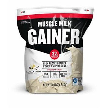CytoSport Muscle Milk Gainer, Vanilla, 10 Pound