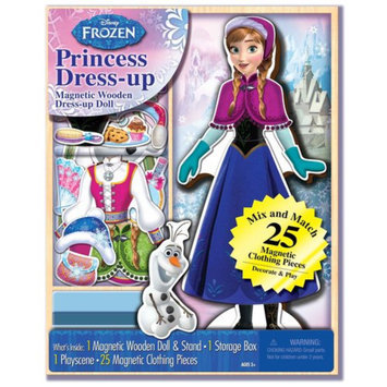 Disney Frozen Wooden Magnetic Playset, 25pc