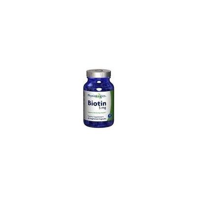 Physiologics Biotin 60 Capsules