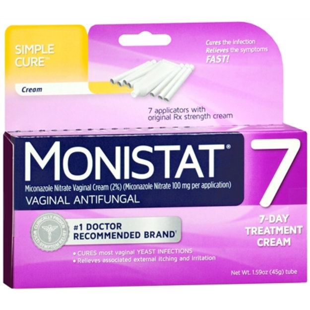 Monistat 7 Vaginal Antifungal Cream Reviews
