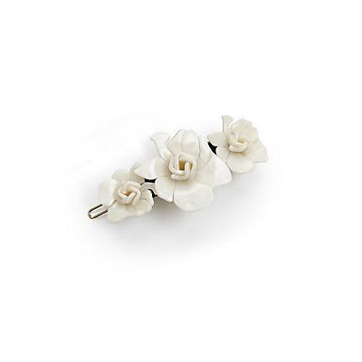 L. Erickson Giverny Rose Tige Boule Barrette