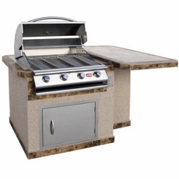 CalFlame 72'' 4-Burner Liquid Propane Gas Grill with