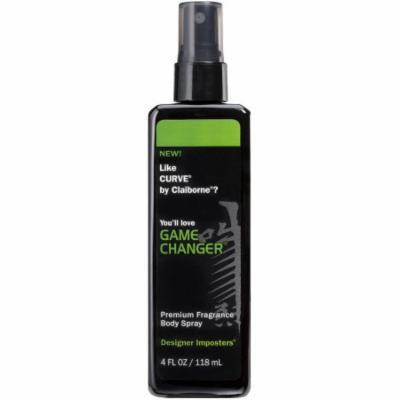 Designer Imposters Game Changer Premium Fragrance Body Spray, 4 fl oz
