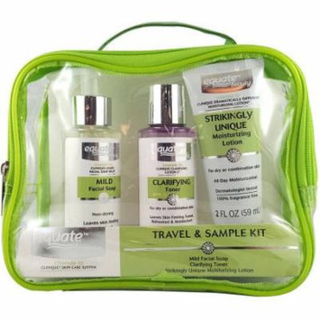 Equate Beauty Travel & Sample Kit, 3 pc