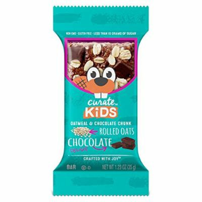 Curate Kids Gluten-Free Snack Bars, Oatmeal & Chocolate Chunk, 20 Count, 1.23 oz