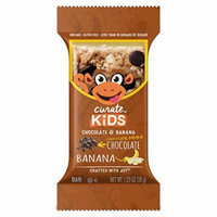 Curate Kids Gluten-Free Snack Bars, Chocolate & Banana, 20 Count, 1.23 oz