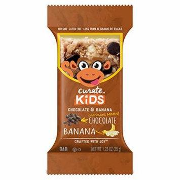 Curate Kids Gluten-Free Snack Bars, Chocolate & Banana, 20 Count, 1.23 oz