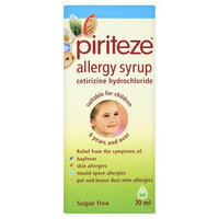 Piriteze Once A Day Allergy Syrup x 70ml