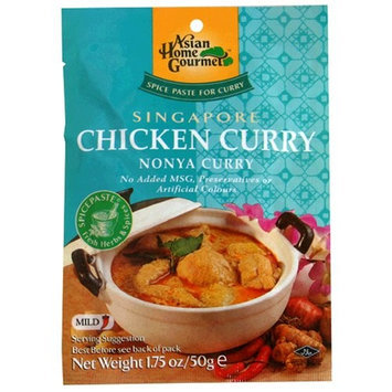 Asian Home Gourmet Singapore Chicken Curry Mix, Nonya, 1.75-Ounce Pouch (Pack of 12)