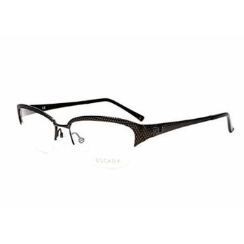 Optical frame Escada Metal Black (VES760 0568)