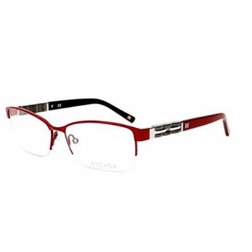 Optical frame Escada Metal Red - Black (VES846S 08TX)