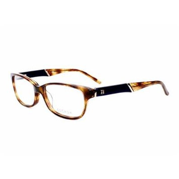 Optical frame Escada Acetate Transparent Havana - Matt Blue (VES261 0ALC)
