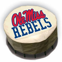 NCAA Mr. Bar-B-Q Round Table Cover, University of Mississippi Ole Miss Rebels