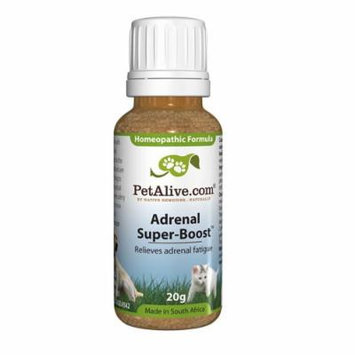 PetAlive Adrenal Super-Boost to temporarily relieve adrenal fatigue (20g), 2.0 ounces Unit