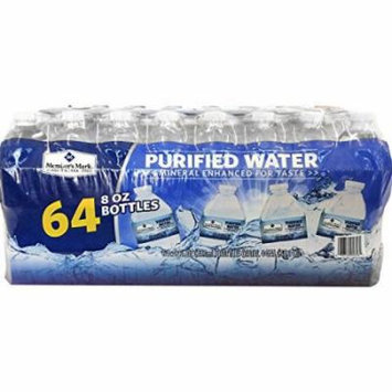 Member's Mark Purified Water, 64 Count