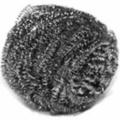 Scotch-Brite 214C Scouring Pad, Stainless Steel>