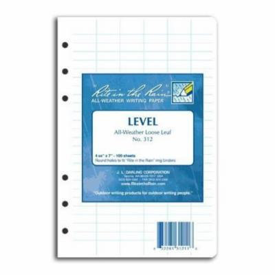 Rite in the Rain Loose Leaf Paper Level No. 312
