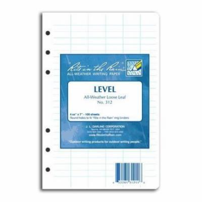 Rite in the Rain Loose Leaf Paper Level No. 312