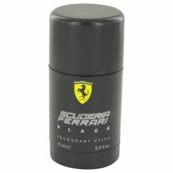 Ferrari Scuderia Black for Men by Ferrari Deodorant Stick 2.5 oz