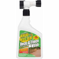 Krud Kutter 32 Oz Hose Mount Deck and Fence Wash