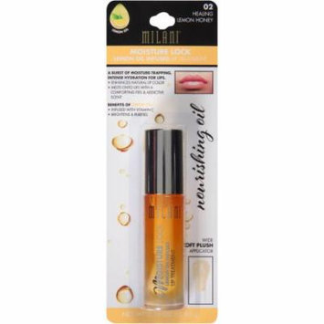 Milani Moisture Lock Lemon Oil Infused Lip Treatment, 02 Healing Lemon Honey. 0.1 oz