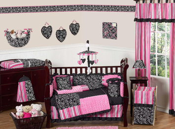 Jojo Designs, Llc. Sweet Jojo Designs Madison Collection 9pc Crib Bedding Set