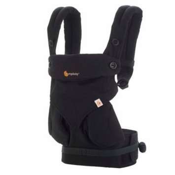Ergo Baby Carrier - Ergo 360 Four Position Baby Carrier - Pure Black