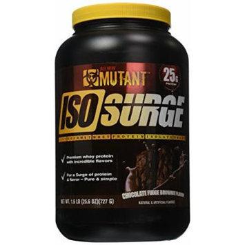 Mutant Iso Surge Protein Isolate Powder, Chocolate Fudge Brownie, 1.6 Pound
