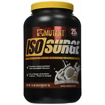 Mutant Iso Surge Protein Isolate Powder, Coconut Cream, 1.6 Pound