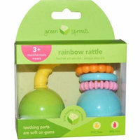 Green Sprouts Unisex Rainbow Rattle, 1 ct