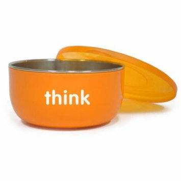 thinkbaby BPA Free Cereal Bowl, Orange, 1 ct