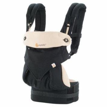 Ergo Baby Carrier - Ergo 360 Four Position Baby Carrier - Black/Camel