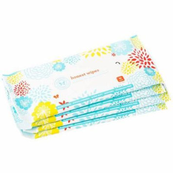 The Honest Company All Natural Cloth Baby Wipes, 10 sheets