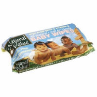 Natural Value Baby Wipes Refills, 80ct 13pk (960 sheets)