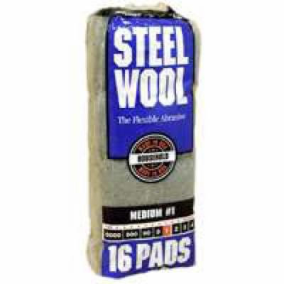 PAD STEEL WOOL 1 MEDIUM