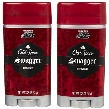 Old Spice Spice Red Zone Deodorant-Swagger-3.25 oz, Twin Pack