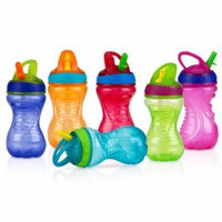 Nuby No-Spill Flip-it Cup, BPA-Free, 10 oz (Colors May Vary)