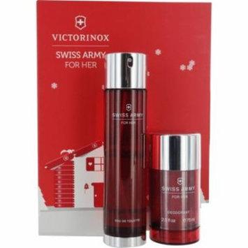 Swiss Army Set-Edt Spray 3.4 Oz & Deodorant Stick 2.5 Oz By Swiss Army