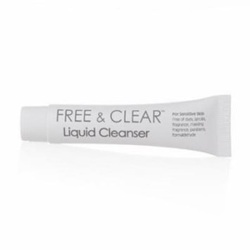 Free And Clear Liquid Body Cleanser For Sensitive Skin Travel Pack 0.25 Oz - 3 Pack