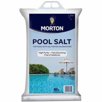 Morton Salt Pool Salt, 40 Lb Bag