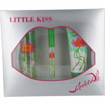 Little Kiss Set-Edt Spray 3.4 Oz & Body Lotion 3.4 Oz & Edt Spray .27