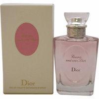 Christian Dior Forever and Ever Dior EDT Spray for Women, 3.4 oz