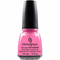 China Glaze Nail Lacquer Glow With The Flow, 0.5 fl oz
