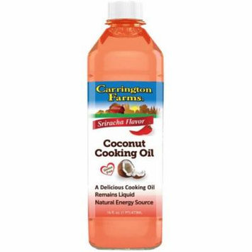 Carrington Farms Sriracha Flavor Coconut Cooking Oil, 16 fl oz