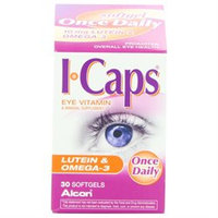 Icaps Tablets ICaps Eye Vitamin & Mineral Supplement Softgels