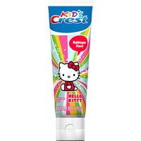 Crest Kid's Anticavity Fluoride Bubblegum Flavor Toothpaste