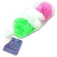 Bath & Body bath and body 3 Pack Body Scrubbers - Case of 24